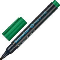 Маркер перманентный Schneider Maxx 130 зеленый (толщина линии 1-3 мм) круглый наконечник