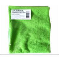 Тряпка для пола микрофибра 50х60 см зеленая 280 г/кв.м
