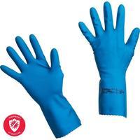 Перчатки латексные Vileda Professional Многоцелевые синие (размер 7.5-8, M, артикул производителя 100753)
