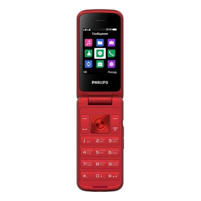 Мобильный телефон Philips E255 Xenium красный