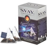 Чай Svay Bergamot-Orange Flowers черный с бергамотом 20 пакетиков