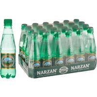 Вода минеральная Нарзан Золотой газированная 0.33 л (24 штуки в упаковке)