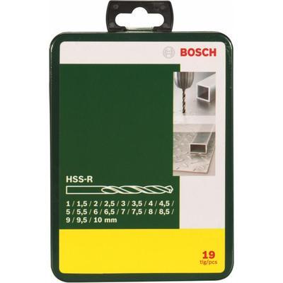Набор сверл Bosch 1-10 мм (19 штук, артикул производителя 2607019435)
