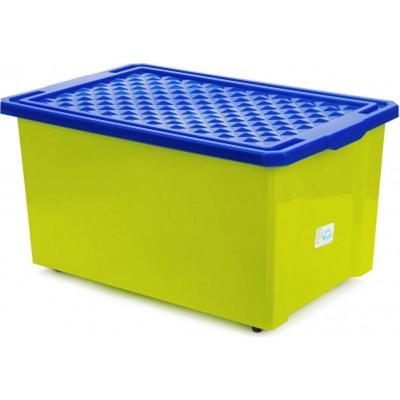 Детский ящик 57 л для хранения игрушек (фисташковый, 610х405х330 мм)