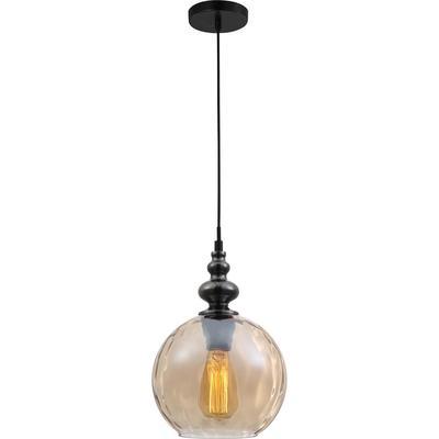 Светильник подвесной Toplight Ida TL1172H-01AB янтарный