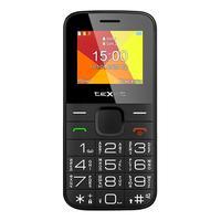 Мобильный телефон Texet TM-201B  черный/красный