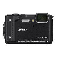 Цифровой компактный Фотоаппарат Nikon Coolpix W300 черный