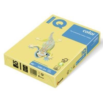 Бумага цветная для печати IQ Color желтая медиум ZG34 (А3, 80 г/кв.м, 500 листов)