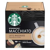 Кофе в капсулах для кофемашин Starbucks Latte Macchiato (12 штук в упаковке)