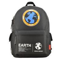 Рюкзак Молодежный Планета земля черный