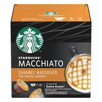 Кофе в капсулах для кофемашин Starbucks Caramel Macchiato (12 штук в упаковке)