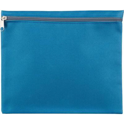 Папка-конверт на молнии Attache Fantasy А5 голубая 150 мкм