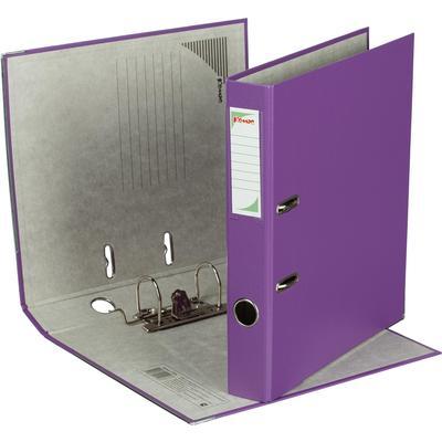Папка-регистратор Комус Экономи 50 мм фиолетовая