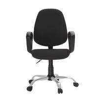 Кресло офисное Easy Chair 222 черное (ткань, металл)