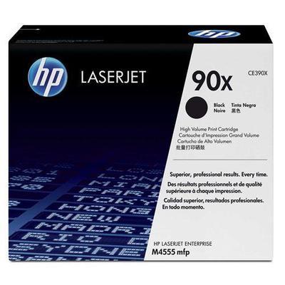 Картридж лазерный HP 90X CE390X черный оригинальный повышенной емкости