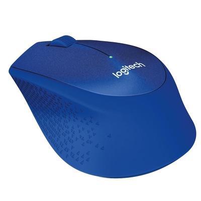 Мышь компьютерная Logitech M330 синяя