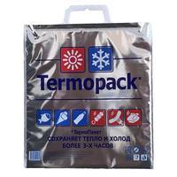 Термопакет 3-слойный металлизированная пленка/ПВД серебристый 32x1x35 см