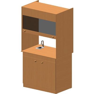 Шкаф вытяжной (бук)