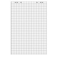 Бумага для флипчартов Attache 67.5х98 см белая 50 листов в клетку (80 г/кв.м, 5 блоков в упаковке)
