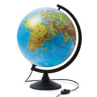 Глобус физико-политический с подсветкой 320 мм