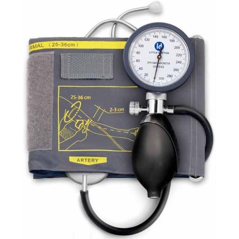 Тонометр LITTLE DOCTOR LD-81 (встроенный стетоскоп манжета 25-36 см)