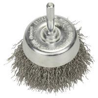 Щетка чашечная волнистая INOX 60 мм для дрели Bosch (2608622118)
