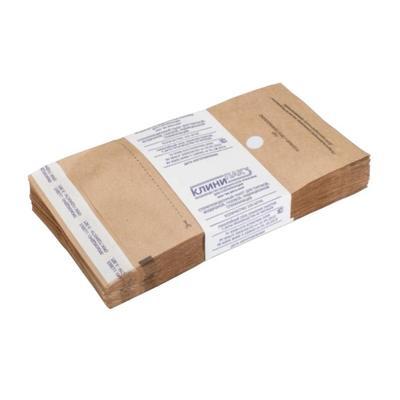 Пакет для стерилизации Клинипак для паровой и воздушной стерилизации 115x200 мм (100 штук в упаковке)