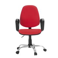 Кресло офисное Easy Chair 222 красное (ткань, металл)
