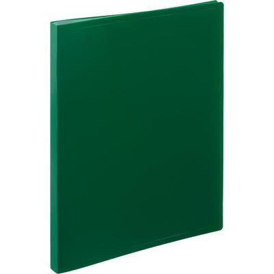 Папка файловая на 20 файлов Attache A4 16 мм зеленая (толщина обложки 0.4 мм)