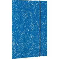 Папка на резинке Attache А4 15 мм картонная до 200 листов синяя (плотность 380 г/кв.м)