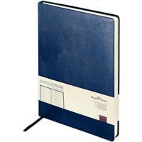 Ежедневник недатированный Bruno Visconti Megapolis искусственная кожа A4 160 листов синий (190х260 мм)
