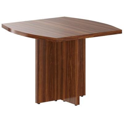 Стол для переговоров Born (орех даллас, 1000x1000x750 мм)