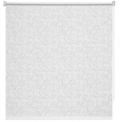 Рулонная штора Burnout Нежность белая (1600x1750 мм)