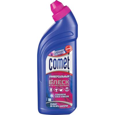 Универсальное чистящее средство с дезинфицирующим эффектом Comet Весенняя свежесть гель 450 мл