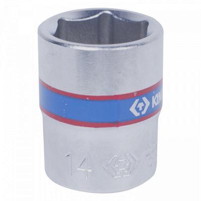 Головка торцевая King Tony шестигранная 1/4 дюйма 14 мм (233514M)