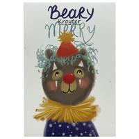 Блокнот Kroyter Друзья Beary Merry А6 48 листов в клетку на скобе