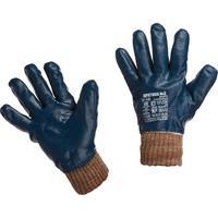 Перчатки рабочие защитные Арктика №3 с нитриловым покрытием (утепленные, pазмер 10, манжета резинка)