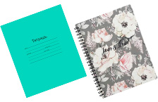 Школьные тетради и дневники