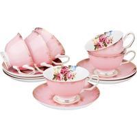Сервиз чайный Lefard 275-902 на 6 персон фарфор (12 предметов)