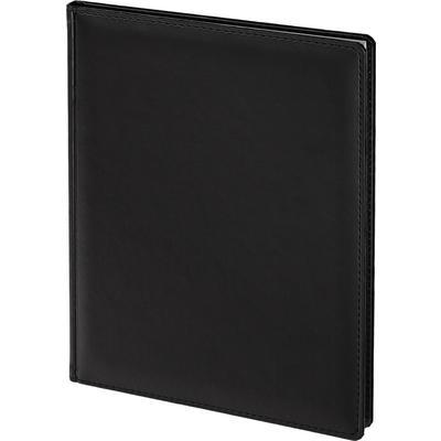 Еженедельник датированный 2021 год Attache Сиам искусственная кожа A4 72 листа черный (200x270 мм)