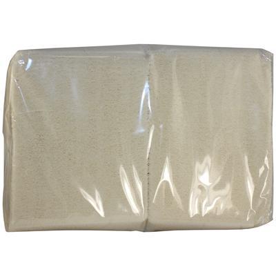 Салфетки бумажные Big Pack 24x24 см белые 1-слойные 400 штук в упаковке