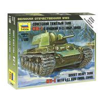 Сборная модель Звезда Советский тяжелый танк КВ-1