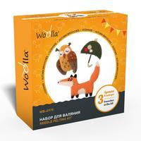 Набор для валяния игрушки Woolla Шерстяной креатив Осенний набор