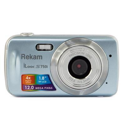 Цифровой компактный Фотоаппарат Rekam ILook S750i металлик