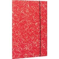 Папка на резинке Attache А4 15 мм картонная до 200 листов красная (плотность 380 г/кв.м)