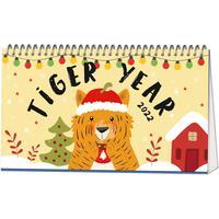 Календарь-домик настольный на 2022 год Символ года (210х120 мм)
