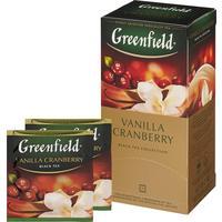 Чай Greenfield Vanilla Cranberry черный 25 пакетиков