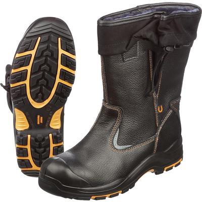 Сапоги утепленные Perfect Protection из натуральной кожи черные с поликарбонатным подноском размер 45