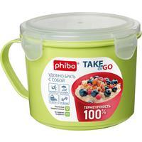 Контейнер-кружка для холодильника и СВЧ Phibo Take & Go 0.85л (артикул производителя 4332131)