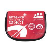 Аптечка первой помощи для велосипедистов и мотоциклистов ФЭСТ № 1 (сумка текстильная)